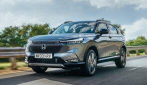Honda HR-V e:HEV ontworpen voor rijplezier